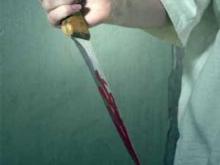 Парень убил себя ударом ножа в живот