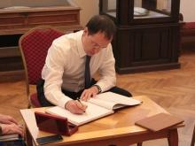 Министр культуры РФ впервые посетил Радищевский музей в Саратове
