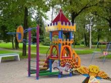 В Саратове появилось восемь новых детских площадок
