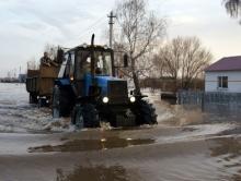 Пострадавшее от паводка село потратит три миллиона рублей на ремонт дорог