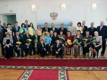 Профессор СГУ получил государственную награду от Михаила Бабича