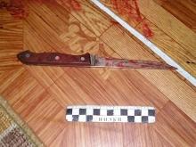 Саратовец ударил ножом в грудь собственного сына