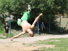 В Саратове прошли соревнования уличных спортсменов