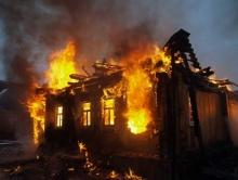 На пожаре в Ртищеве пострадал пенсионер