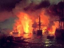 В Вольске сгорели три судна