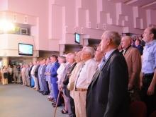 Поздравление депутатам Саратовской областной думы с 20-летием. Фоторепортаж с торжества