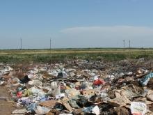 Незаконная свалка в сто гектаров вопреки обещанию замминистра продолжает гореть