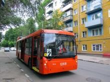 Троллейбусный маршрут в Саратове ограничен из-за ремонта теплосетей