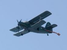 В Саратове день ВДВ отметили выступлением парашютистов. Фото и видеореортаж
