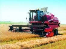 Зампред Соловьев лично намолотил 12 тонн зерна