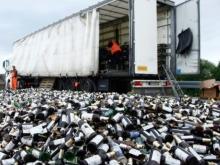 Саратовец вез с юга 13 тысяч бутылок контрафактного шампанского
