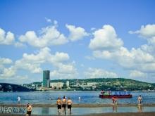 Район энгельсского городского пляжа оцепила полиция