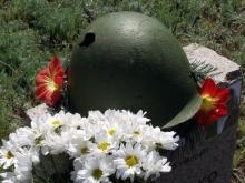 В Новых Бурасах предали земле останки воина Великой Отечественной