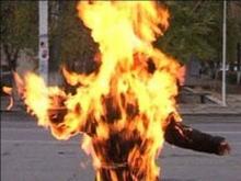 В Балакове мужчину сожгли живьем