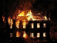 В двухэтажке под Саратовом сгорел мужчина
