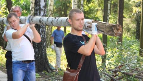 """Саратовцев приглашают на субботник в """"Сокол"""""""