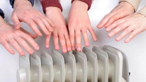 график подключения тепла:
