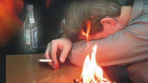 Сельчанин сгорел в доме вместе с престарелой матерью