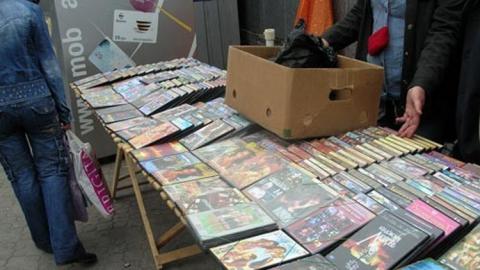В Волгограде уничтожили 10 000 пиратских DVD из Саратова