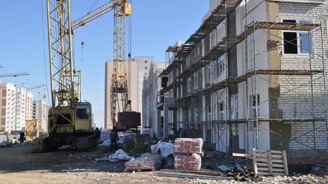 В пос. Солнечном строится самый большой детский сад Кировского района