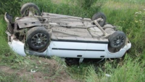 Балаковский водитель сбил столб и велосипедиста