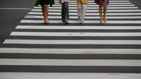 На Тархова появился новый пешеходный переход