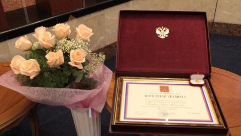 Награды президента РФ получили саратовский прыгун в воду и два гребца
