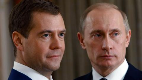 Путин и Медведев поздравили Радаева с Днем народного единства