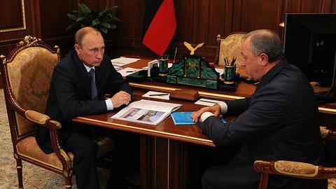 Валерий Радаев встретился в Москве с президентом Владимиром Путиным