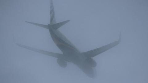 Саратовский авиарейс задерживается из-за тумана