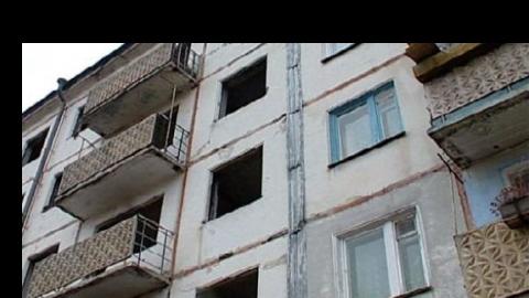 Дом по улице Заречная признан опасным для жизни
