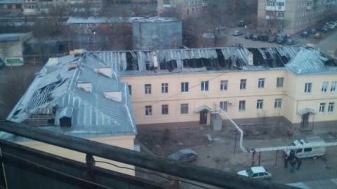 Пожар на ул. Мира в Саратове. Подробности