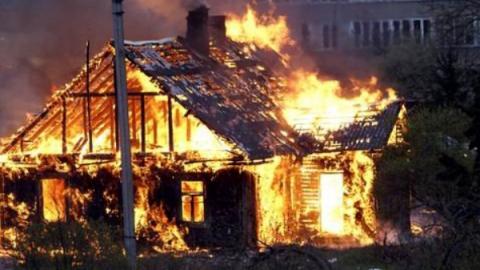 Под Аткарском неизвестный мужчина стал жертвой пожара площадью в метр