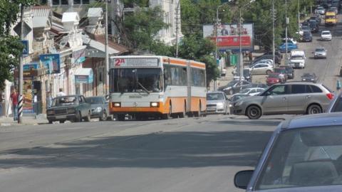 Автобус 18Д сбил пешехода-нарушителя