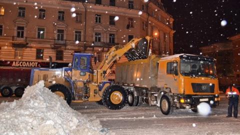 В Саратове пройдет масштабная ночная чистка снега