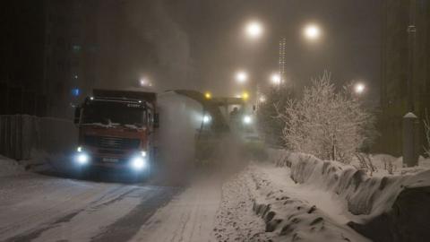 Сегодня ночью Саратов вновь будут планово чистить от снега