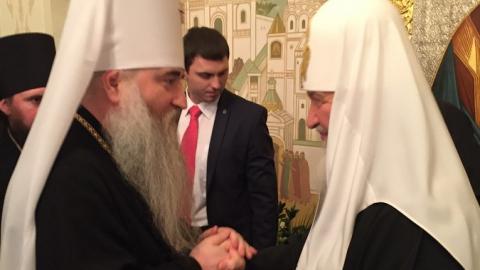 Лонгин получил награду за организацию визита патриарха