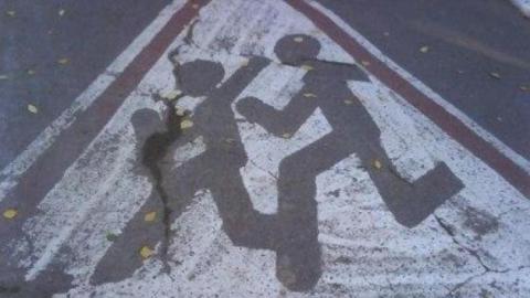 Юный пешеход попала под колеса иномарки в Саратове