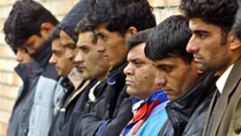 УФМС и пограничники задержали два автомобиля с нелегалами