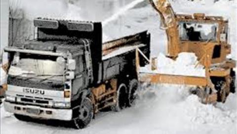 Саратовские дороги снова перекроют для расчистки снега
