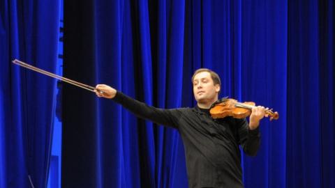 Дмитрий Коган сыграл в Саратове на скрипке Марии-Антуанетты