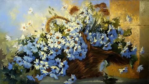 В Энгельсе четверо грабителей не побрезговали картиной с цветами