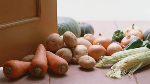 У сельчанки из сарая унесли шесть центнеров овощей