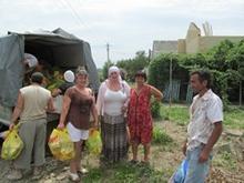 В Крымск из Саратова доставили новую партию гуманитарной помощи