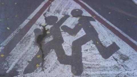 """В Саратове автолюбители наехали на двух пешеходов на """"зебре"""""""