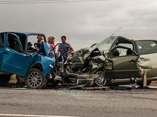 В автокатастрофе на трассе пострадала беременная женщина