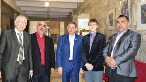 Аспирант СГЮА провел рабочий день с министром Шинчуком