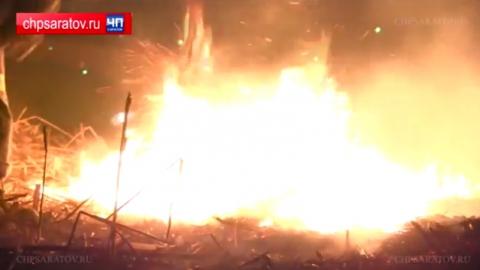 В Саратове воспламенившийся мусор чуть не поджег ТЭЦ