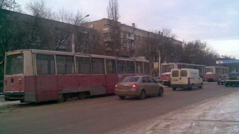 ДТП на Советской парализовало движение трамваев четырех маршрутов