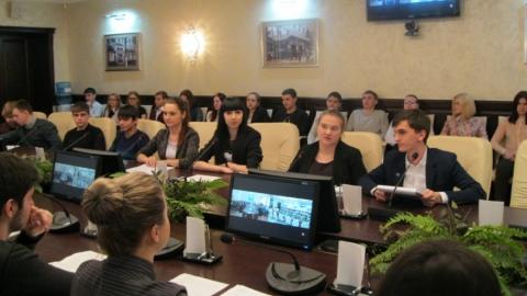 В СГЮА прошла видеоконференция, посвященная 70-летию Победы